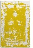 rug #1087670 |  yellow graphic rug