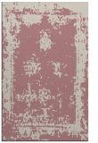 rug #1087702    pink faded rug