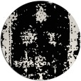 rug #1087718 | round white faded rug