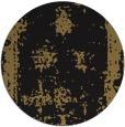 rug #1087742 | round mid-brown damask rug