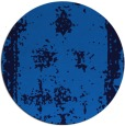 rug #1087746 | round blue traditional rug