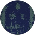rug #1087754 | round blue faded rug