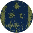 rug #1087758 | round blue faded rug