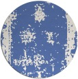 rug #1087762 | round blue faded rug