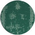 rug #1087770 | round blue-green traditional rug