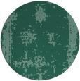 rug #1087770 | round blue-green borders rug