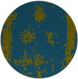 rug #1087794 | round blue-green rug