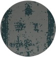 rug #1087846 | round blue-green faded rug
