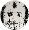 rug #1087858 | round black borders rug