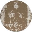 rug #1087870 | round beige faded rug