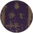 rug #1087958 | round purple borders rug