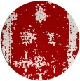 rug #1087966 | round red traditional rug