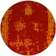 rug #1087970 | round orange traditional rug