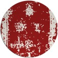 rug #1087974 | round red borders rug