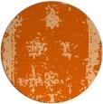 rug #1087986 | round red-orange borders rug