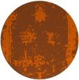 rug #1087990 | round red-orange damask rug