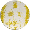 rug #1088006 | round white faded rug