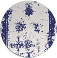 rug #1088010 | round blue traditional rug