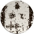 rug #1088014 | round brown faded rug