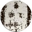 rug #1088014 | round brown borders rug