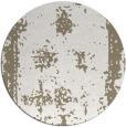 rug #1088026 | round beige damask rug