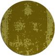 rug #1088050 | round light-green damask rug