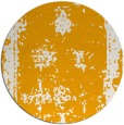 rug #1088066 | round light-orange damask rug
