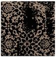 rug #1088462   square black damask rug