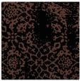 rug #1088466   square brown damask rug