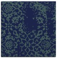 rug #1088490 | square blue traditional rug