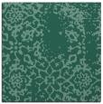 rug #1088506 | square blue-green damask rug