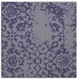 rug #1088542 | square blue-violet damask rug