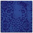 rug #1088554 | square blue-violet damask rug