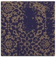 rug #1088558 | square blue-violet damask rug