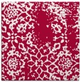 rug #1088570 | square red traditional rug