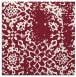 rug #1088674 | square pink traditional rug