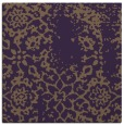 rug #1088694 | square mid-brown faded rug