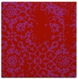 rug #1088714 | square red traditional rug