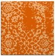 rug #1088722 | square red-orange traditional rug