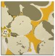 rug #108873 | square yellow natural rug
