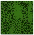 rug #1088734 | square green traditional rug