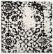 rug #1088738 | square white faded rug