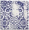 rug #1088746 | square blue damask rug