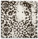 rug #1088750 | square brown faded rug