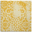 rug #1088766 | square yellow natural rug