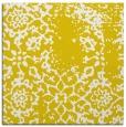 rug #1088774   square yellow traditional rug