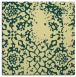rug #1088782 | square yellow rug