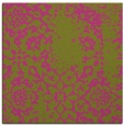 rug #1088794 | square pink traditional rug