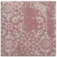 rug #1088806 | square pink damask rug