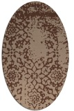 rug #1088836 | oval traditional rug